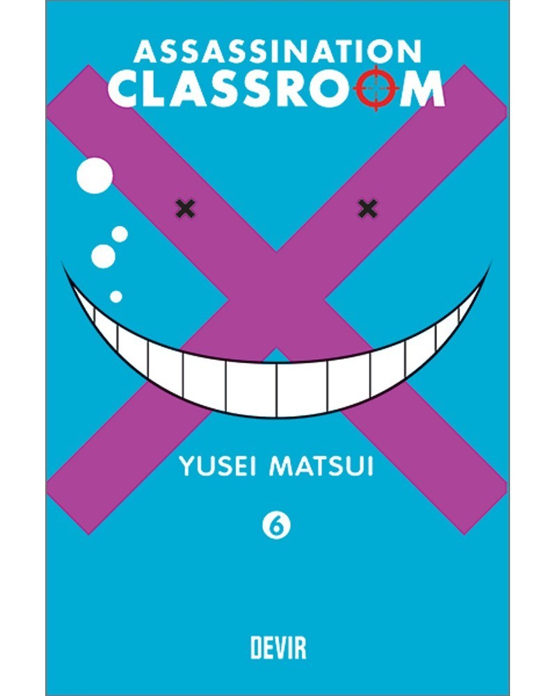 Assassination Classroom vol.6 (Ed. Portuguesa) Capa