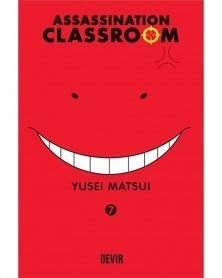 Assassination Classroom vol.7 (Ed. Portuguesa) Capa