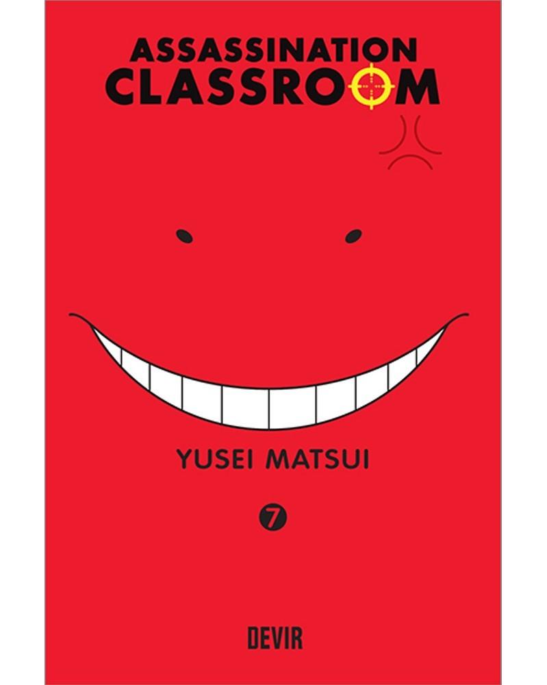 Assassination Classroom vol.7 (Ed. Portuguesa) Capa