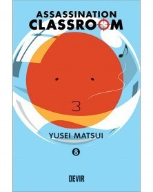 Assassination Classroom vol.8 (Ed. Portuguesa) Capa