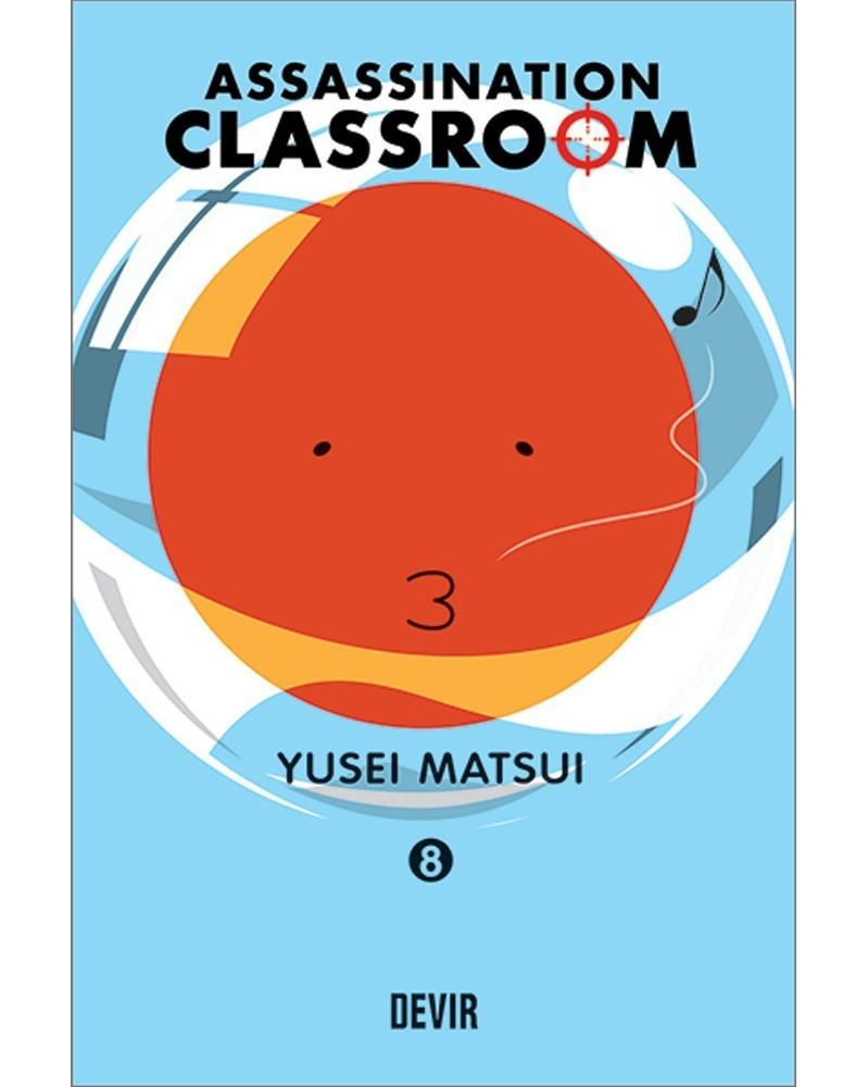 Assassination Classroom vol.8 (Ed. Portuguesa) Capa