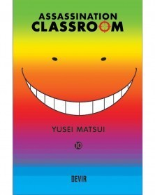 Assassination Classroom vol.10 (Ed. Portuguesa) Capa