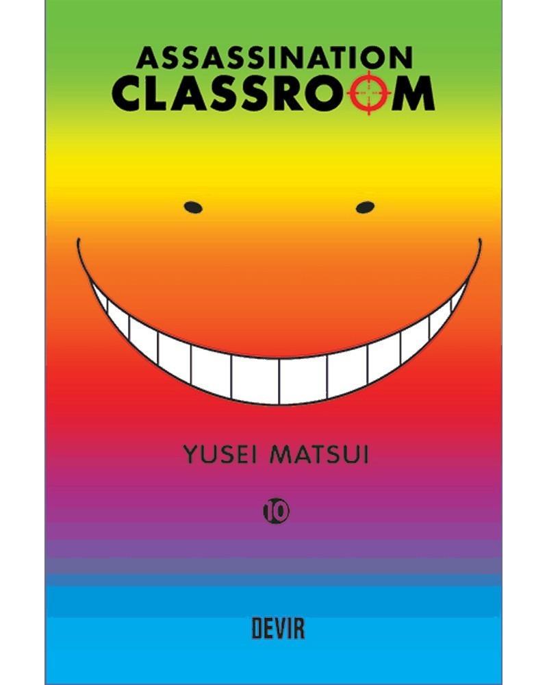 Assassination Classroom vol.10 (Ed. Portuguesa) Capa