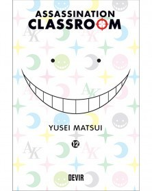 Assassination Classroom vol.12 (Ed. Portuguesa) Capa