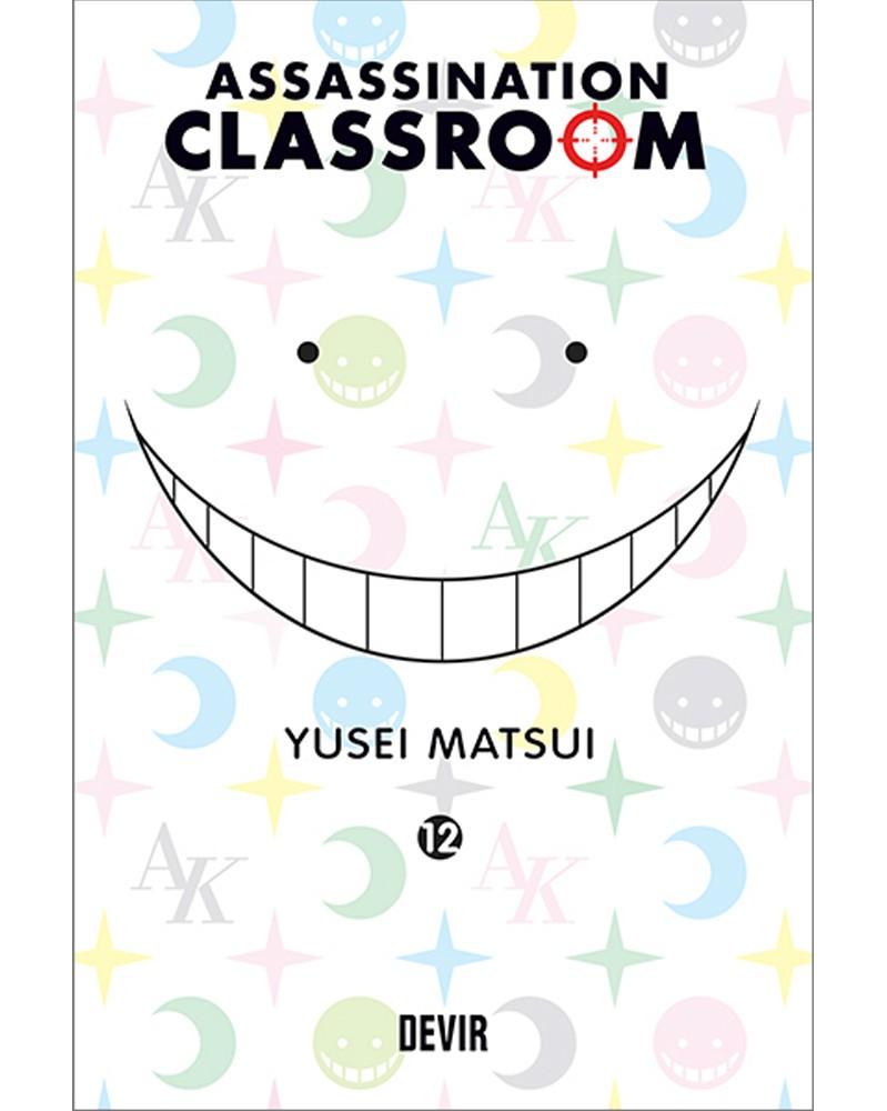 Assassination Classroom vol.12 (Ed. Portuguesa) Capa