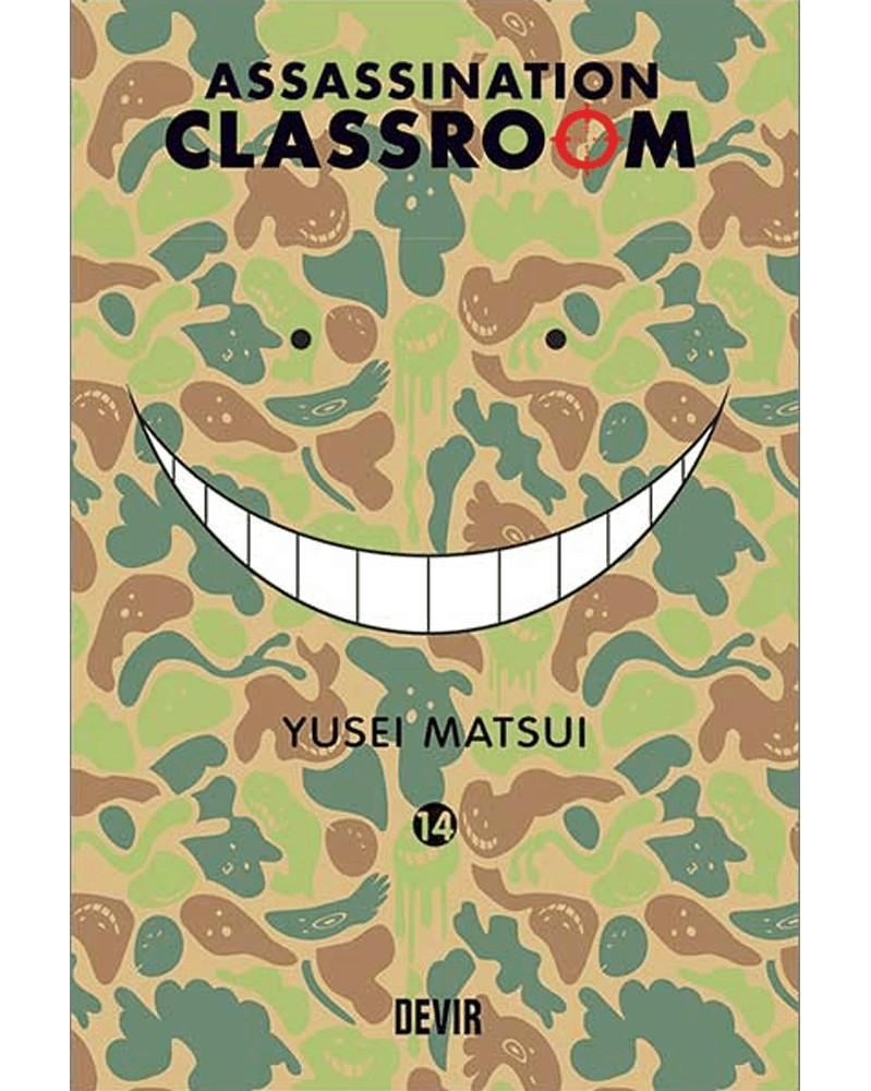 Assassination Classroom vol.14 (Ed. Portuguesa) Capa