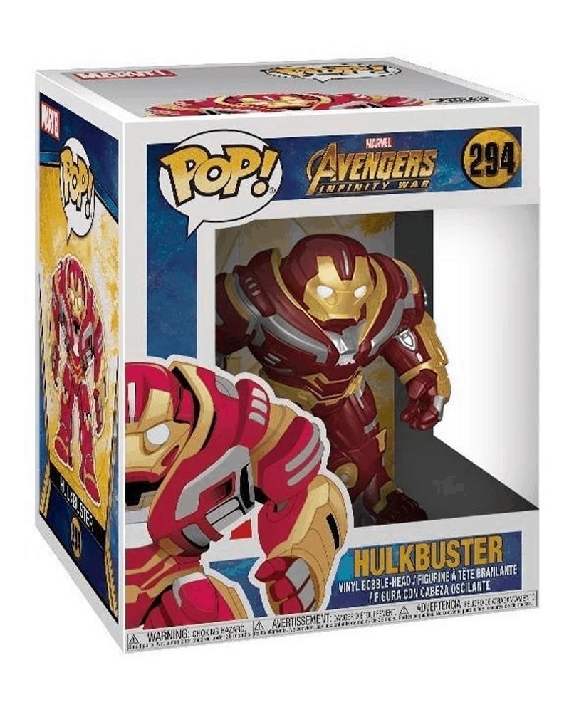 Funko POP Avengers: Infinity War - Hulkbuster, caixa