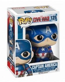 Funko POP Civil War - Captain America, caixa