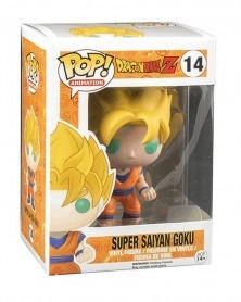 Funko POP Anime - Dragonball Z - Super Saiyan Goku, caixa