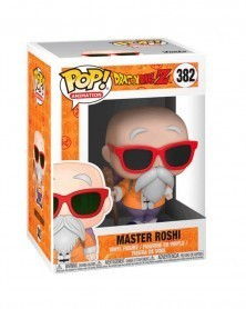 Funko POP Anime - Dragonball Z - Master Roshi (with cane), caixa