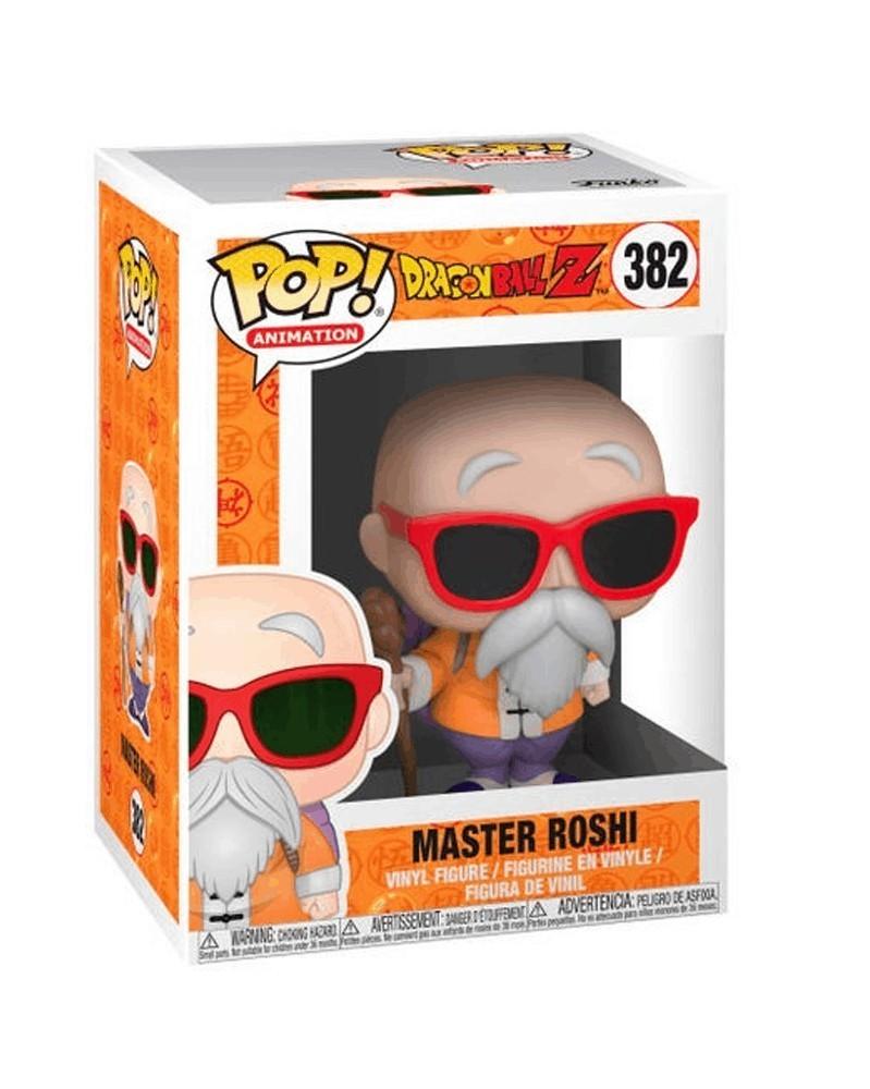 Funko POP Anime - Dragonball Z - Master Roshi (with cane), caixa