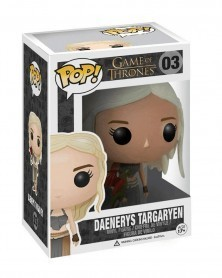 POP Game of Thrones - Daenerys Targaryen (with Dragon), caixa