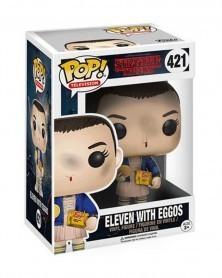 Funko POP TV - Stranger Things - Eleven with Eggos, caixa