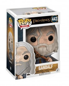 Funko POP Lord of The Rings - Gandalf, caixa