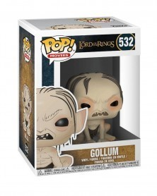 Funko POP Lord of The Rings - Gollum, caixa