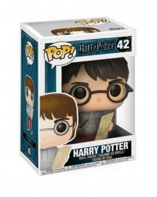 Funko POP Movies - Harry Potter (with Marauder's Map), caixa