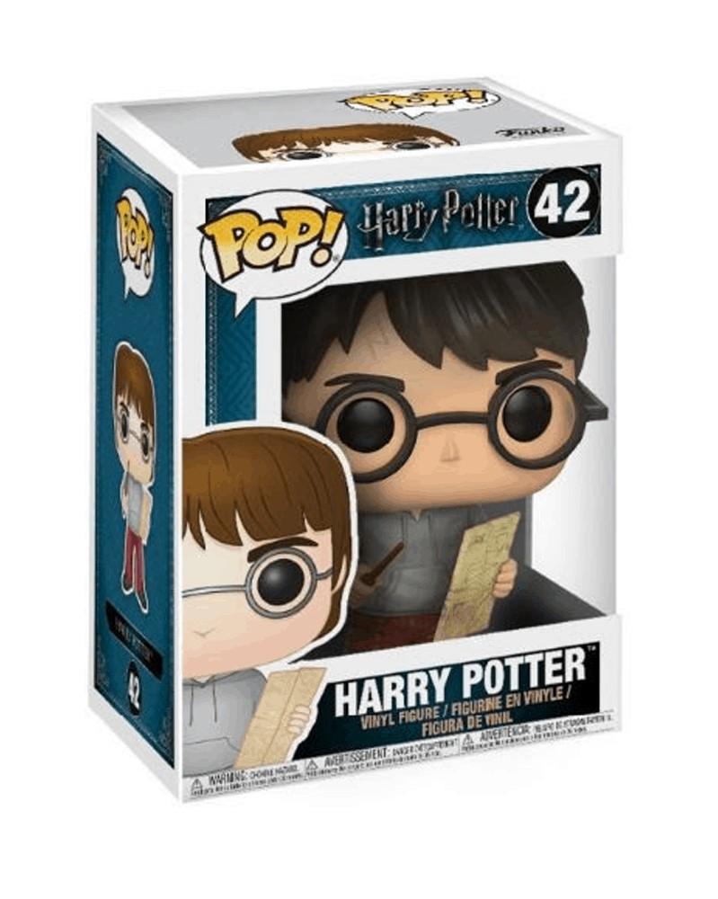 Funko POP Movies - Harry Potter (with Marauder's Map), caixa