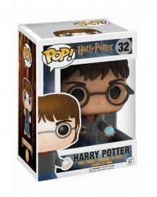 Funko POP Movies - Harry Potter (with Prophecy), caixa