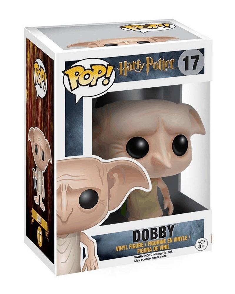 Funko POP Harry Potter - Dobby (with Sock), caixa