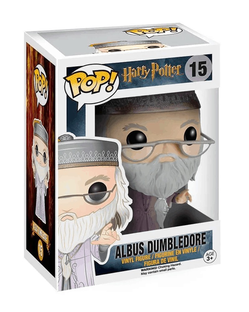 Funko POP Harry Potter - Albus Dumbledore (with Wand), caixa