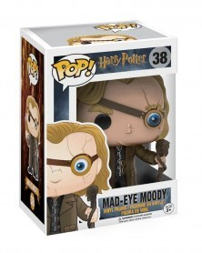 Funko POP Harry Potter - Mad-Eye Moody, caixa