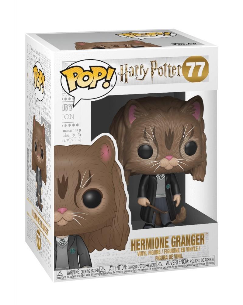 Funko POP Harry Potter - Hermione Granger (as Cat), caixa