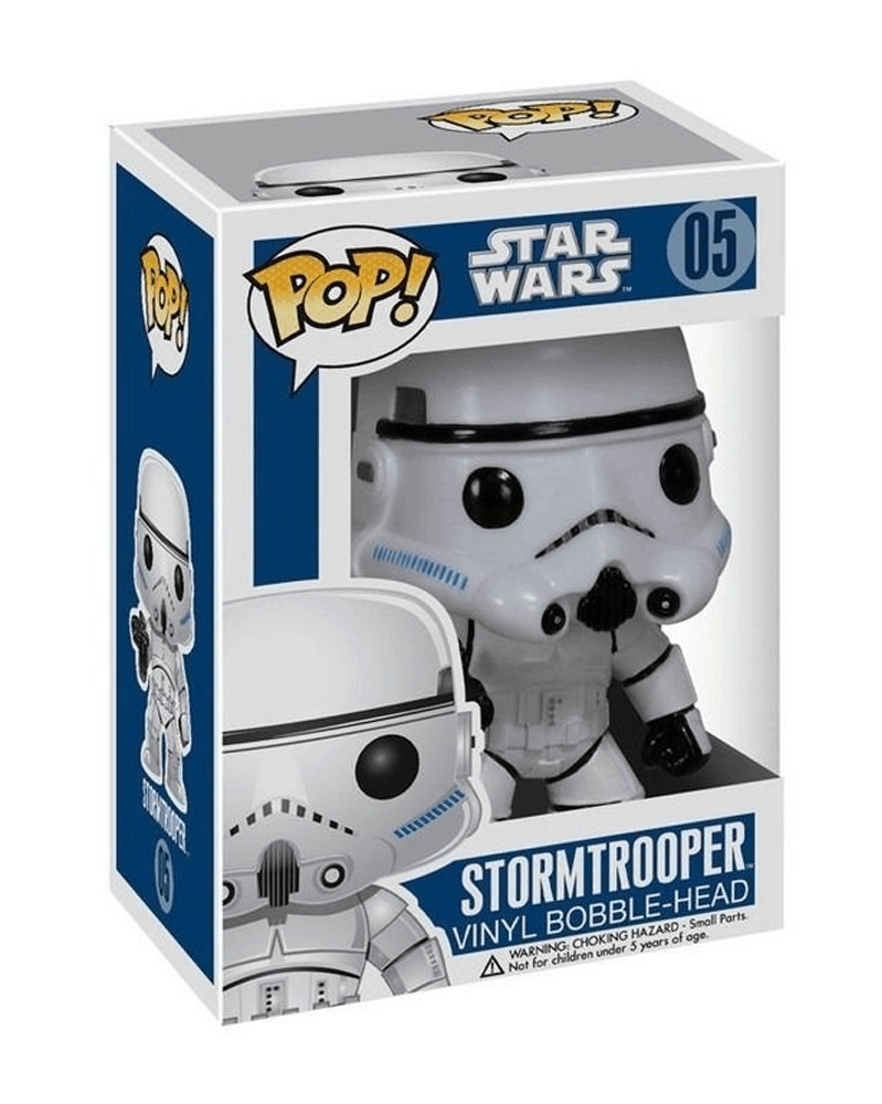 Funko POP Star Wars - Stormtrooper, caixa
