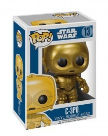 Funko POP Star Wars - C-3PO, caixa
