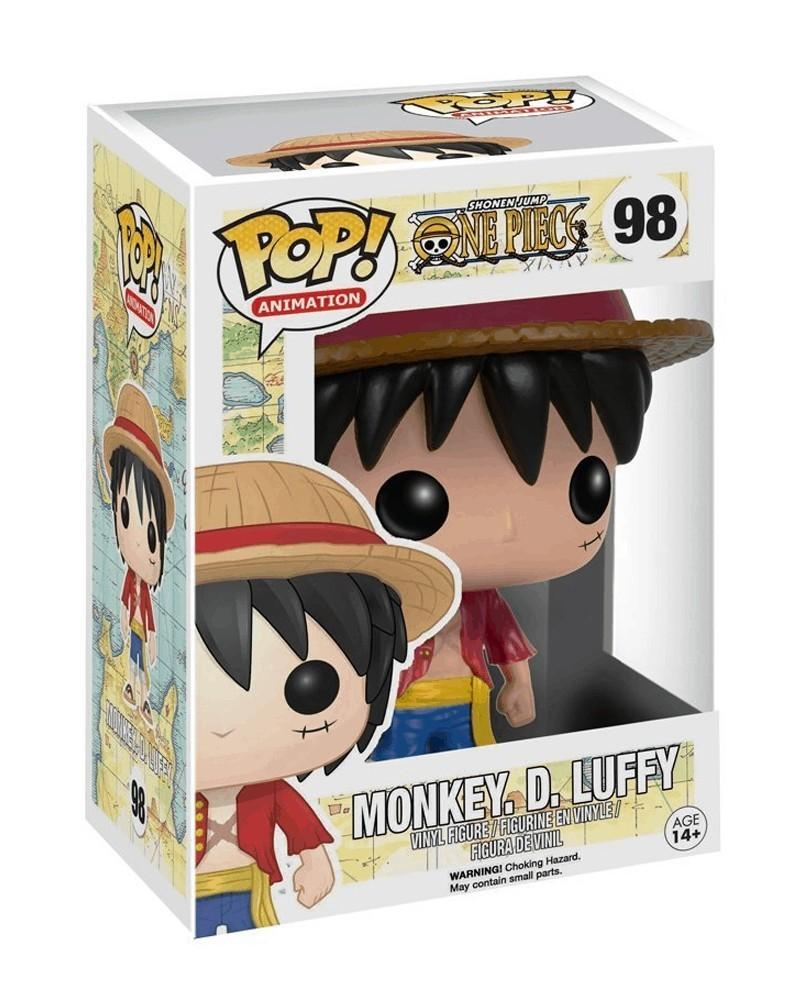 Funko POP Anime - One Piece - Monkey D. Luffy, caixa