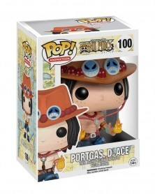 Funko POP Anime - One Piece - Portgas D. Ace, caixa