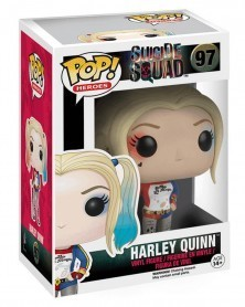 Funko POP Heroes - Suicide Squad - Harley Quinn, caixa