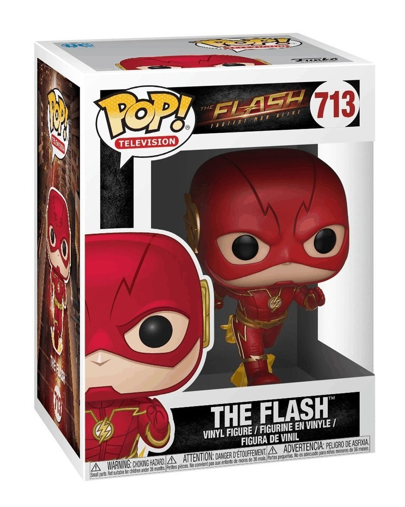 Funko POP Television - The Flash (Running), caixa
