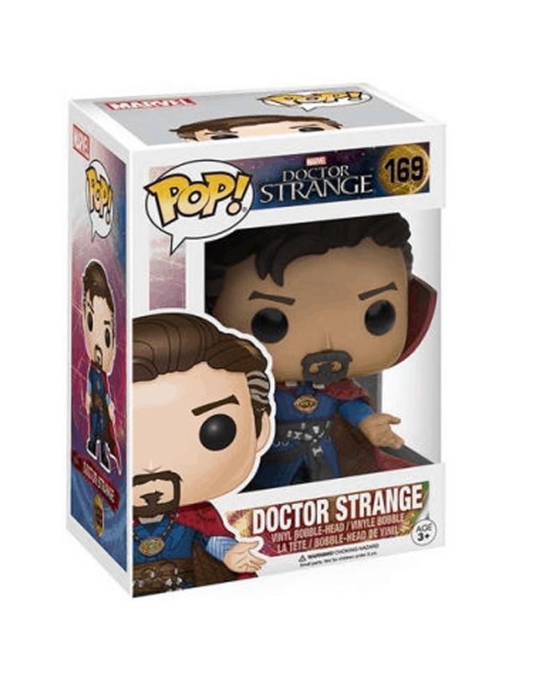 Funko POP Marvel Movies - Doctor Strange, caixa
