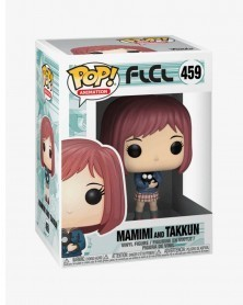 Funko POP Anime - FLCL - Mamimi and Takkun, caixa