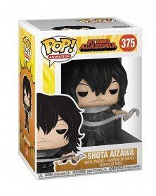 Funko POP Anime - My Hero Academia - Shota Aizawa, caixa