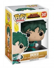 Funko POP Anime - My Hero Academia - Deku, caixa