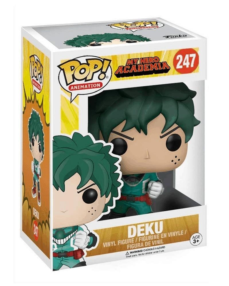 Funko POP Anime - My Hero Academia - Deku, caixa