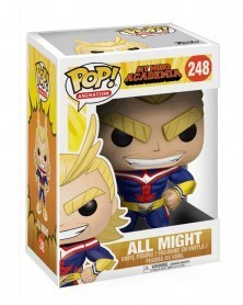 Funko POP Anime - My Hero Academia - All Might, caixa