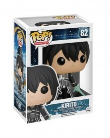 Funko POP Anime - Sword Art Online - Kirito, caixa