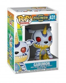 Funko POP Animation - Digimon - Gabumon, caixa
