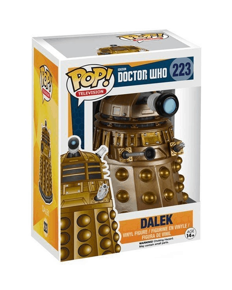 Funko POP Television - Doctor Who - Dalek, caixa