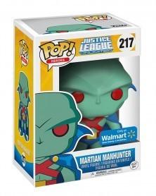 POP Heroes - Justice League - Martian Manhunter (Walmart), caixa