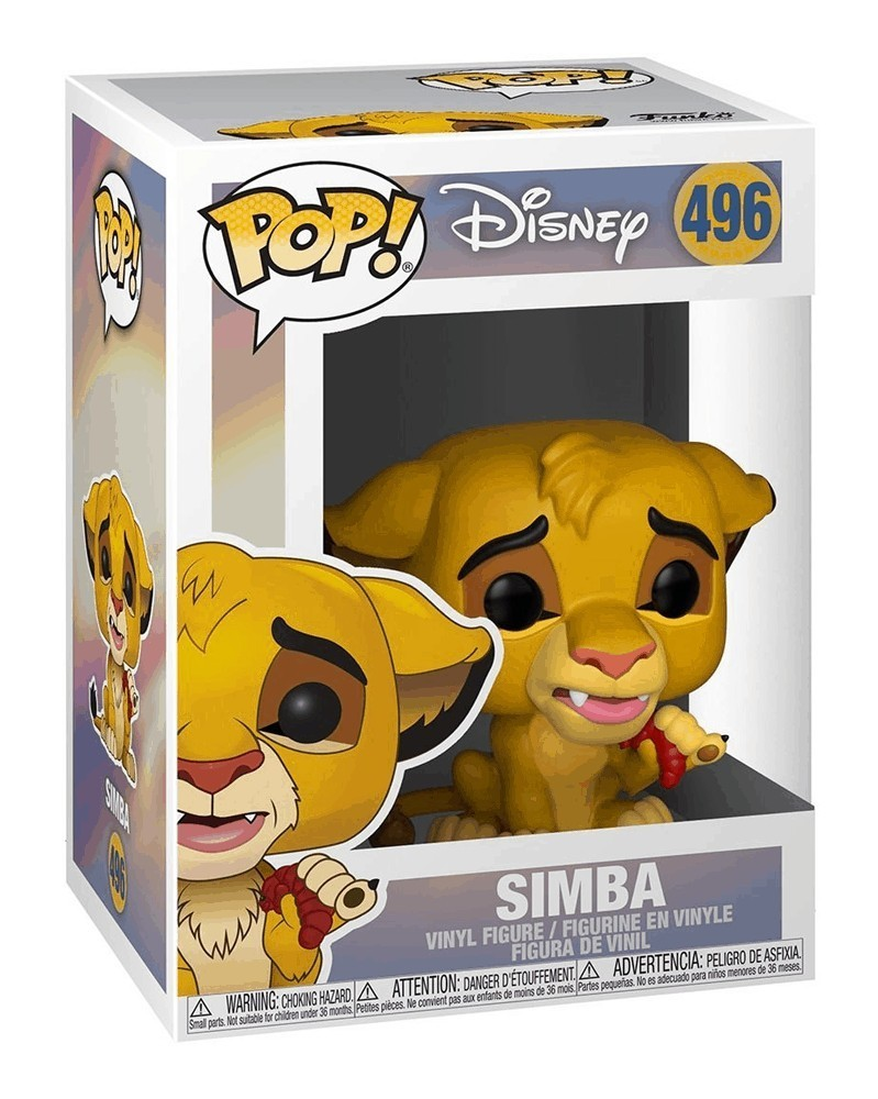 Funko POP Disney - The Lion King (Live Action) - Simba, caixa