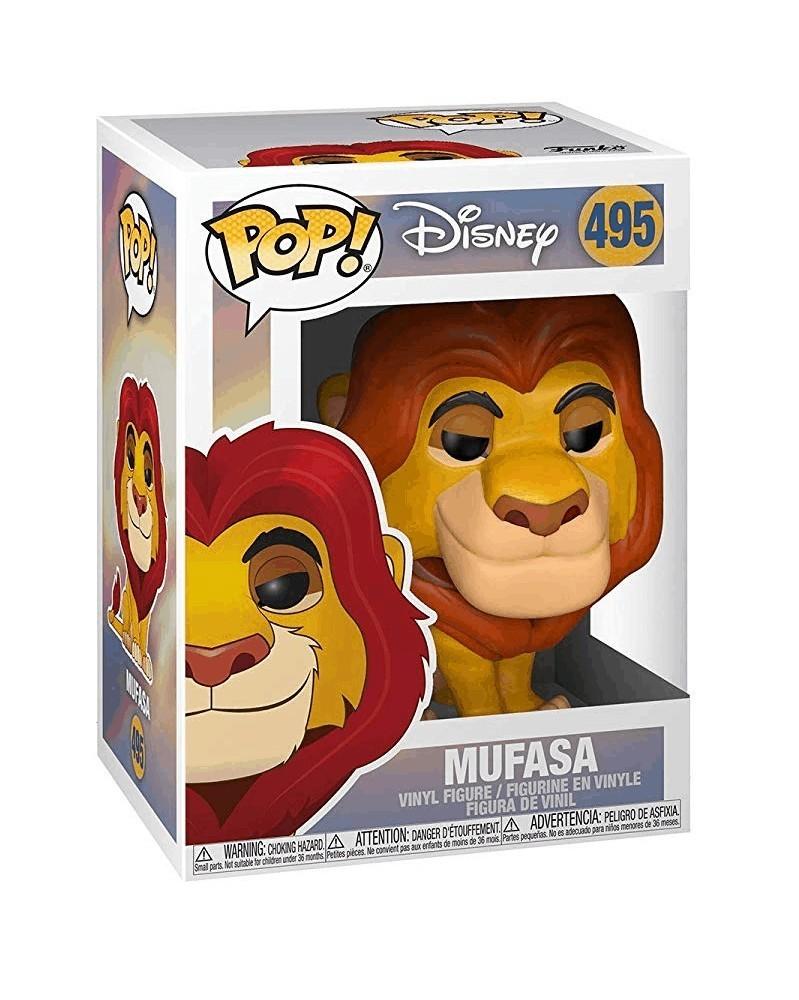 Funko POP Disney - The Lion King (Live Action) - Mufasa, caixa