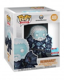 POP Games - Overwatch - Coldhardt Reinhardt (GITD), caixa