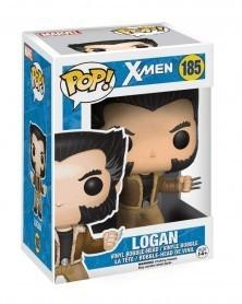 Funko POP Marvel - X-Men - Logan, caixa