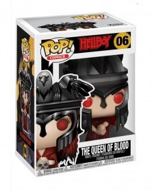 Funko POP Comics - Hellboy - Nimue The Queen of Blood, caixa