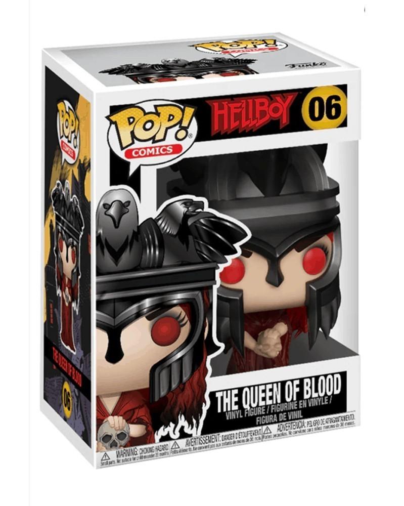 Funko POP Comics - Hellboy - Nimue The Queen of Blood, caixa