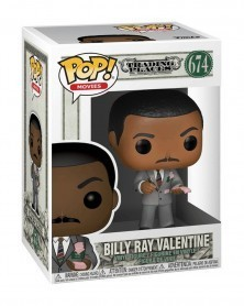 Funko POP Movies - Trading Places - Billy Ray Valentine, caixa