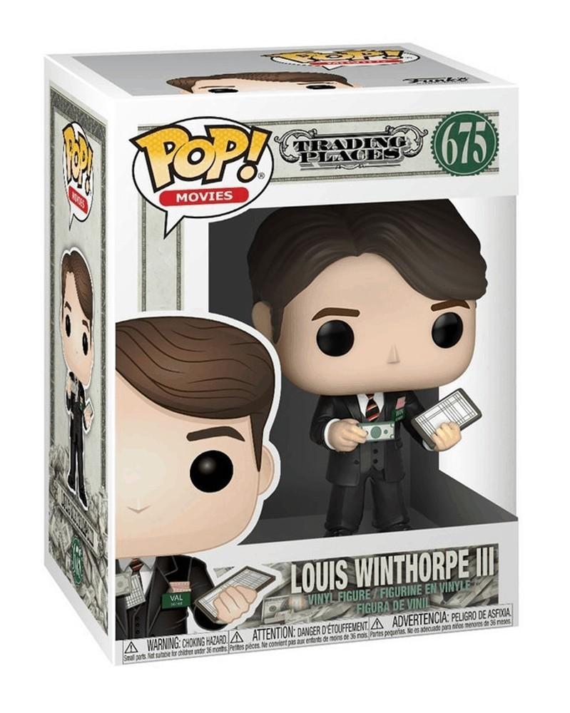 Funko POP Movies - Trading Places - Loius Winthorpe III, caixa